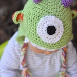 Littlest Monster Crochet Baby Hat
