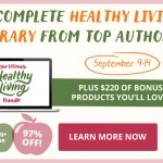 Achieve Your Health Goals – Ultimate Health Book Bundle Giveaway