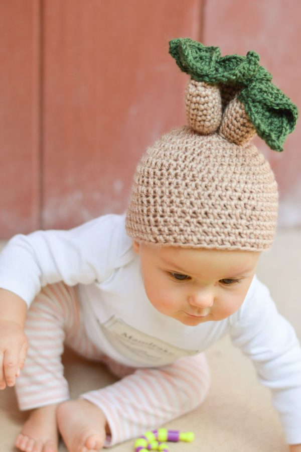 mandrake baby hat crochet pattern free halloween costume