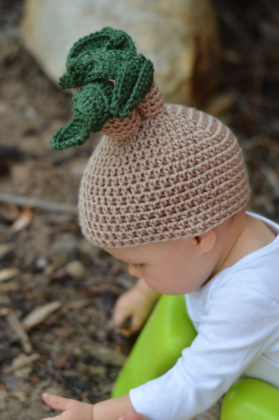 40d4ca122da Crochet Mandrake Baby Hat - Whistle and Ivy
