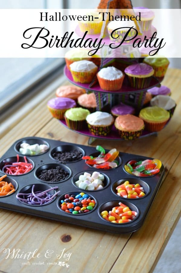Halloween Themed Birthday Party - Pull together an easy Halloween Birthday for your October child!