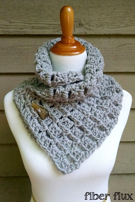 19 Pretty Crochet Scarves - Whistle and Ivy