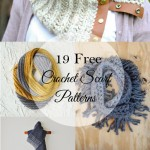 19 Pretty Crochet Scarves