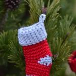 Crochet Stocking Advent Calendar Day 6