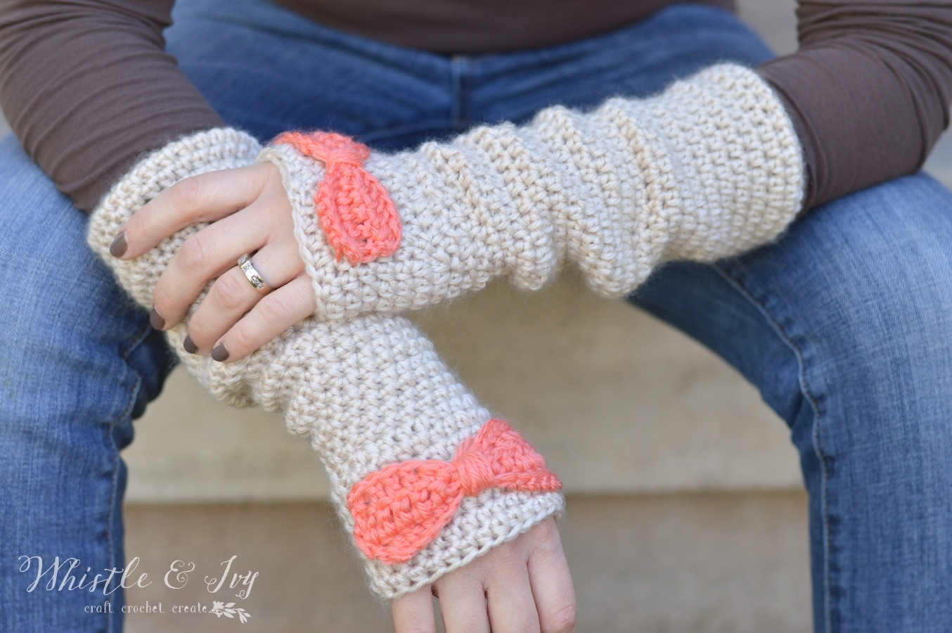 Puppy Love Arm Warmers - Whistle and Ivy