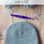 How to Crochet a Straight Seam with Hdc Stitches