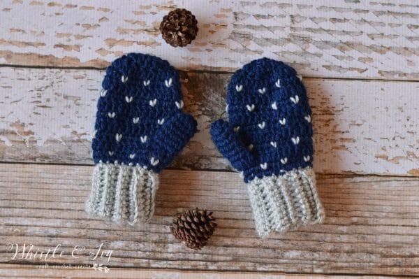 cute crochet mittens for kids crochet pattern knit look stitch easy crochet mittens pattern