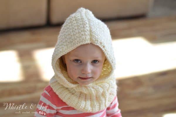 Toddler Hooded Cowl Whistle And Ivy