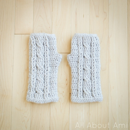 16 Pretty Crochet Arm Warmers And Fingerless Gloves Whistle And Ivy