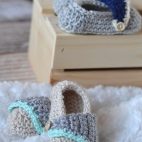 Baby Boardwalk Slip-Ons Crochet Pattern