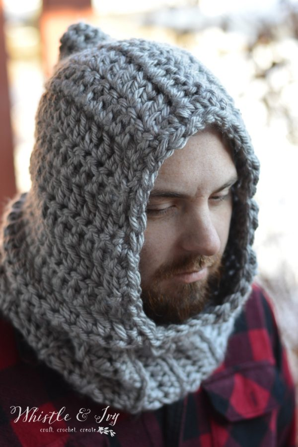 Farmer's Chunky Hooded Cowl Whistle and Ivy Amazing Hooded Cowl Pattern