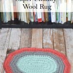 Crochet Super Chunky Wool Rug