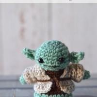 Crochet Yoda Amigurumi