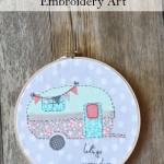 Vintage Camper Embroidery