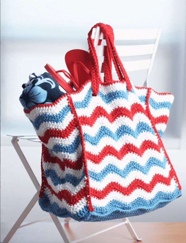 12 Free Patriotic Crochet Projects - Find some patriotic crochet inspiration with these fun projects to make this month.