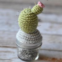 Crochet Cactus Pincushion