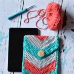 Crochet Chevron iPad Mini Case