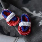Patriotic Baby Flip Flops