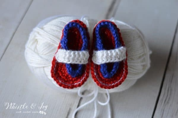 Patriotic Baby Flip Flops Whistle And Ivy