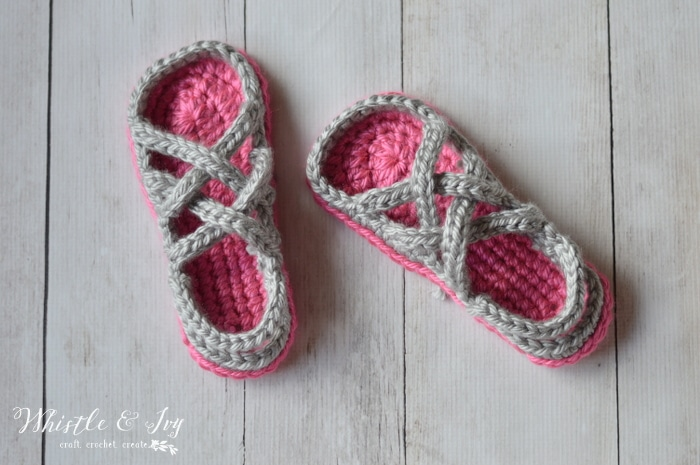 Crochet Women S Gladiator Sandals Whistle And Ivy
