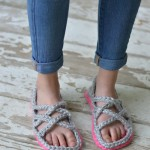 Crochet Women's Gladiator Sandals