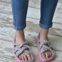 Crochet Women's Gladiator Sandals