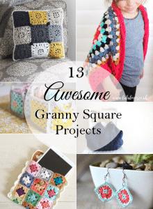 13grannysquareprojects
