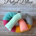 Crochet Pretzel Pillow