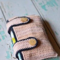 Crochet Diaper Pouch