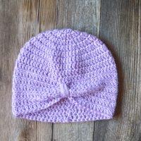 Crochet Turban Chemo Cap