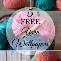 5 FREE Pretty Yarn Wallpaper Photos