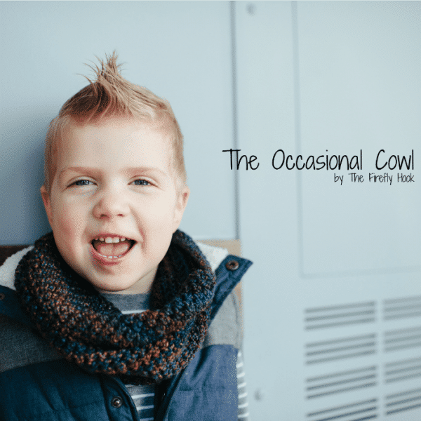 The Occasional Cowl by The Firefly Hook | DIY Crochet Cowl