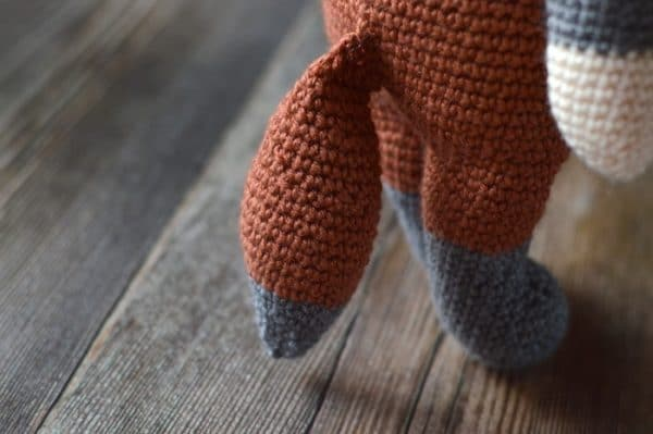 Fibi the Fox- This adorable crochet fox doll will delight kids of all ages. It has simple construction and will hook you on Lalylala dolls!
