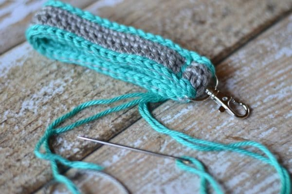Crochet Key Fob - Whistle and Ivy
