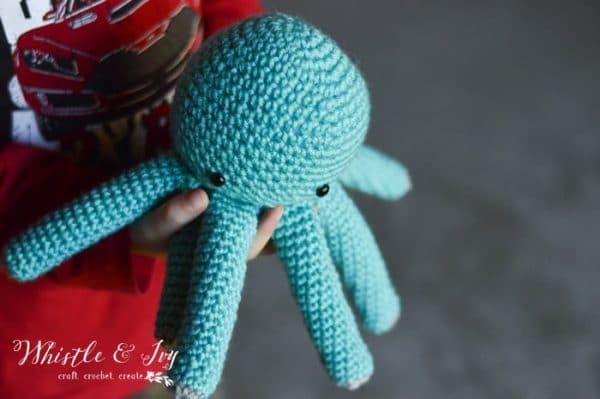 Crochet Baby Octopus Amigurumi Whistle And Ivy Adorable Octopus Crochet Pattern