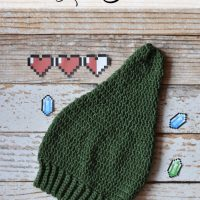 Crochet Link Hat Pattern