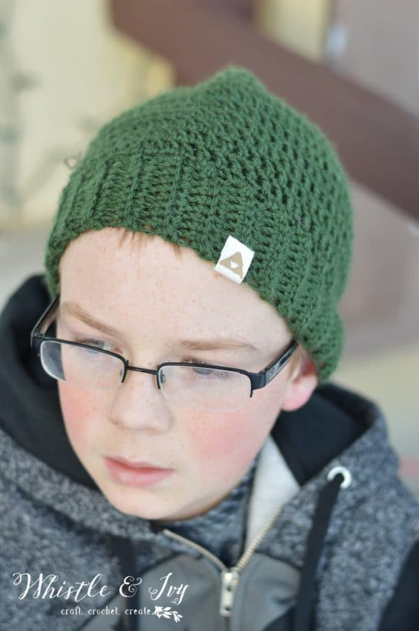 Free Crochet Pattern Link Hat : Crochet Link Hat Pattern - Whistle and Ivy