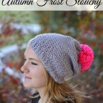 Autumn Frost Slouchy Hat Crochet Pattern