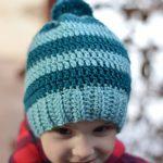 Schoolyard Striped Hat