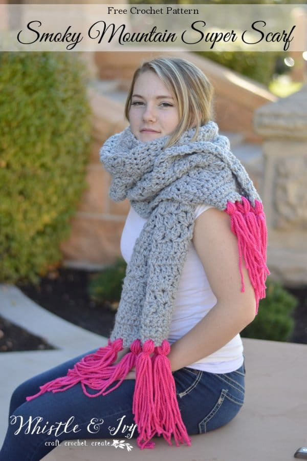 Smoky Mountain Super Scarf Whistle And Ivy