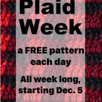 Crochet Plaid Week