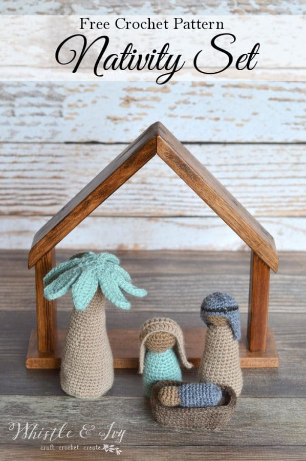 Crochet Nativity Mini Cal Whistle And Ivy