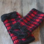 Crochet Plaid Arm Warmers – Free Crochet Pattern