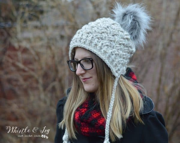 Chunky Diagonal Weave Hat - Get this gorgeous pattern and over 30 others in this beautiful book - Crochet Style. This book has something for everyone!