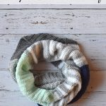 Stripes and Solids Crochet Scarf