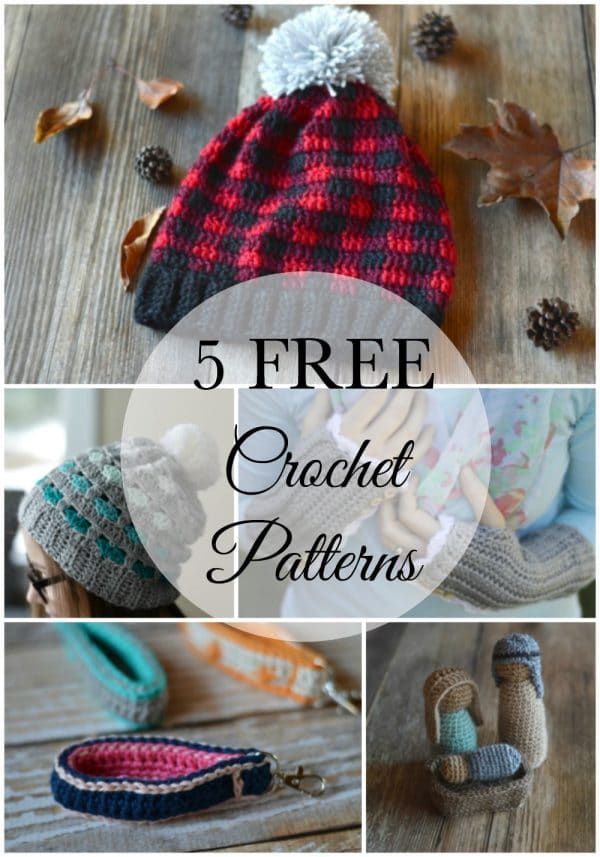 Most Popular FREE Crochet Patterns of 2016 - Don't miss these free crochet patterns, the most popular on Whistle and Ivy during last year.