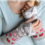 Puppy Love Arm Warmers – Free Crochet Pattern