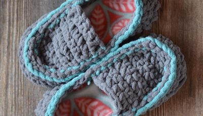 Women's Quick and Cozy Crochet Slippers