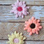 Crochet Gerbera Daisies Pattern