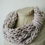 Finger Knit Cowl and Tutorial